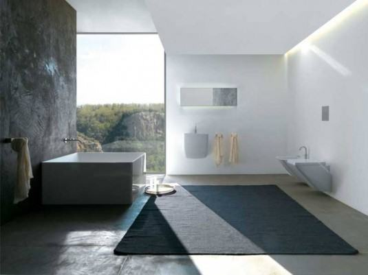 Minimalist-square-bathtub-designs-1