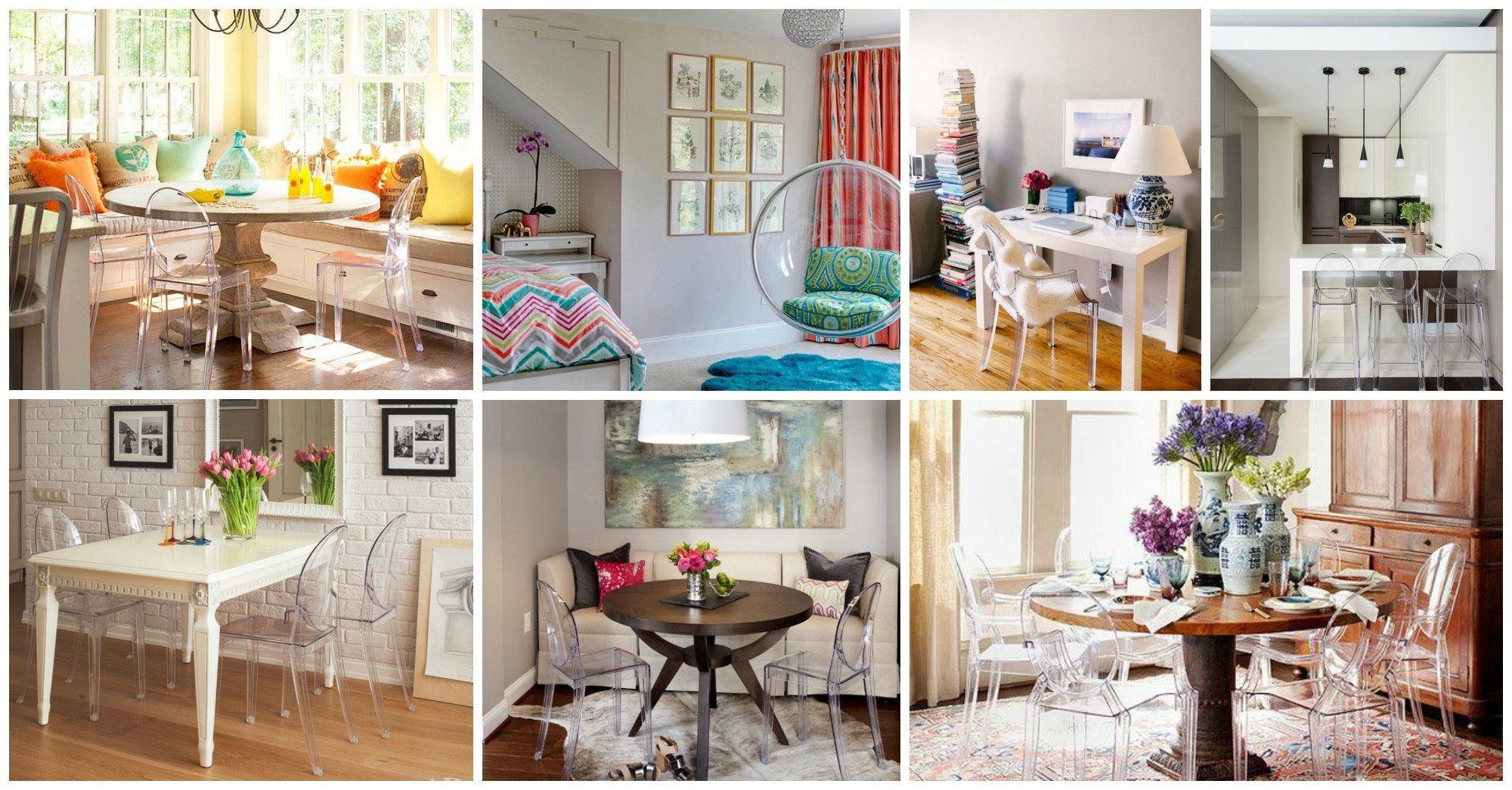 Lovely Acrylic Chairs to Add Uniqueness To Your Home