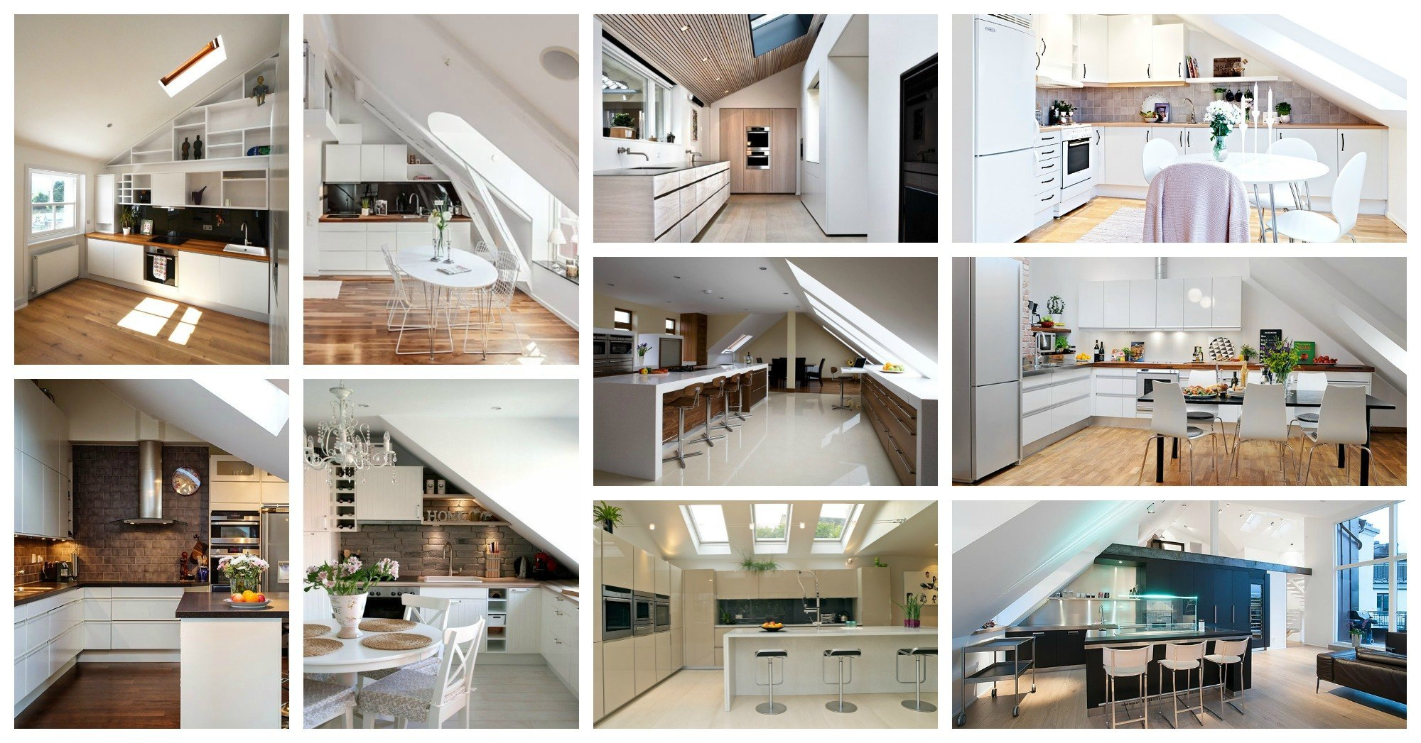 Absolutely stunning attic kitchens that will take your for Attic kitchen designs