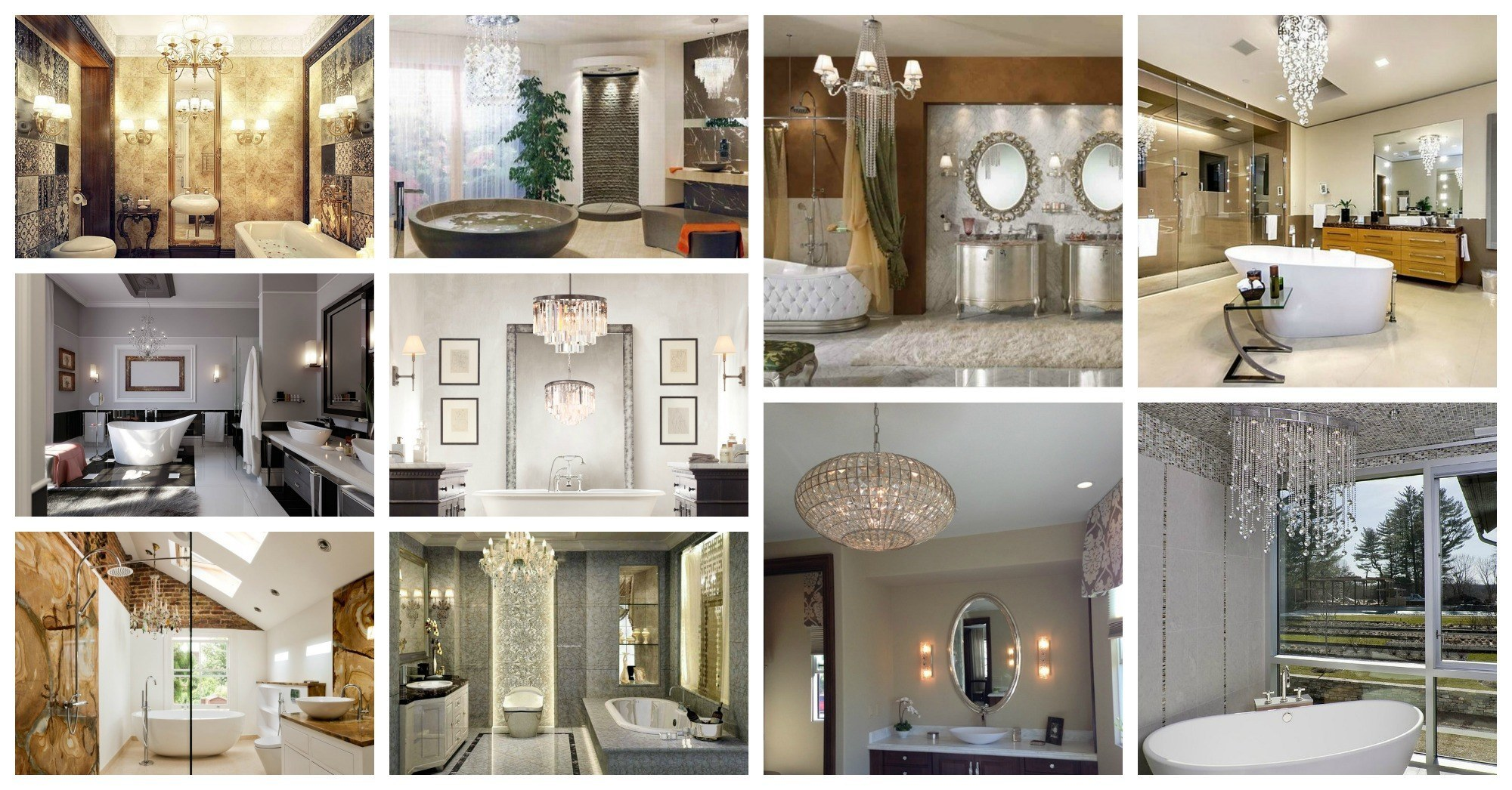 Charming Bathroom Chandeliers That Will Make You Say Wow