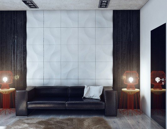 black-and-white-wall-texture