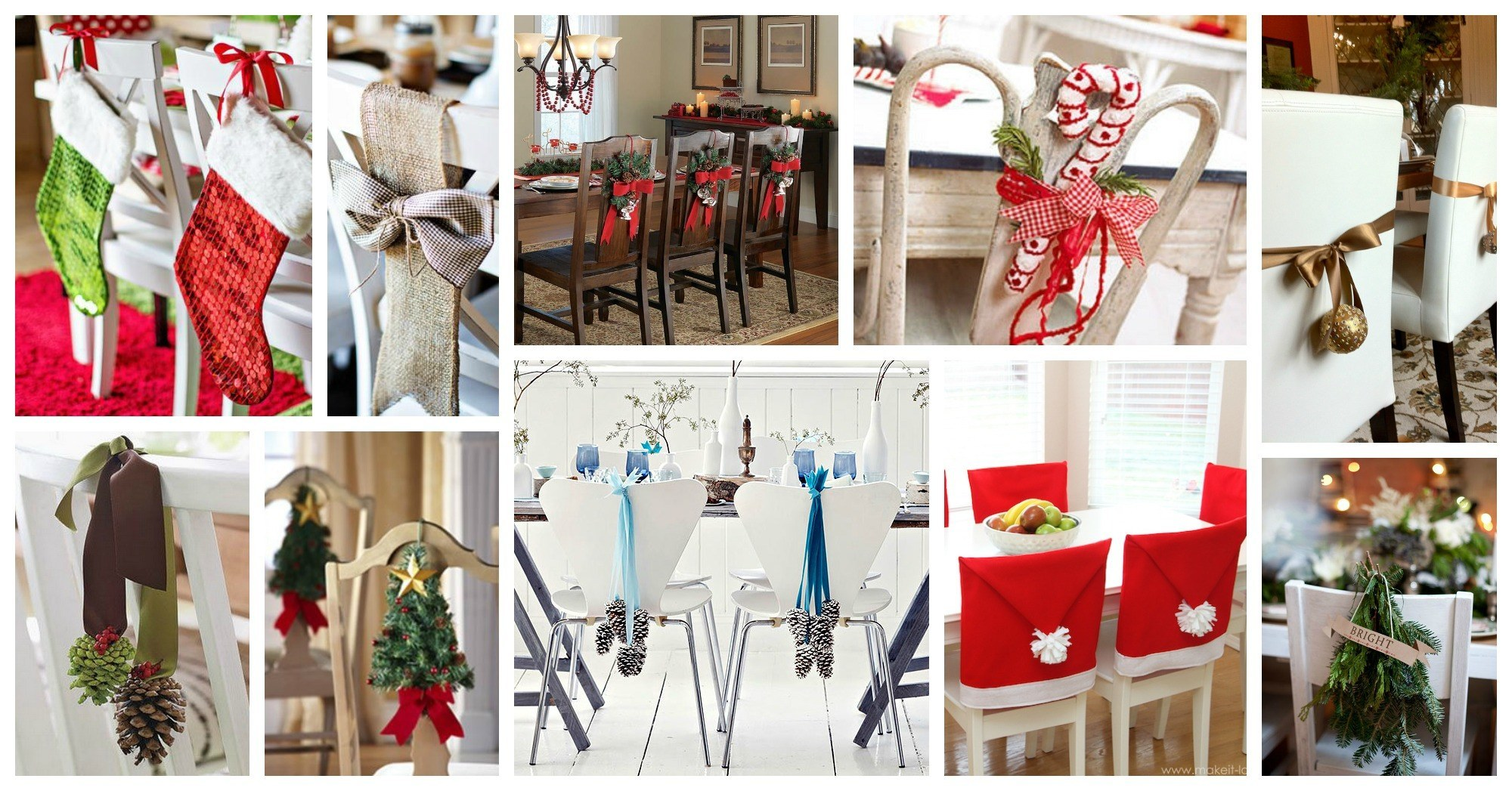 Wonderful Christmas Chair Decor Ideas That Will Amaze You