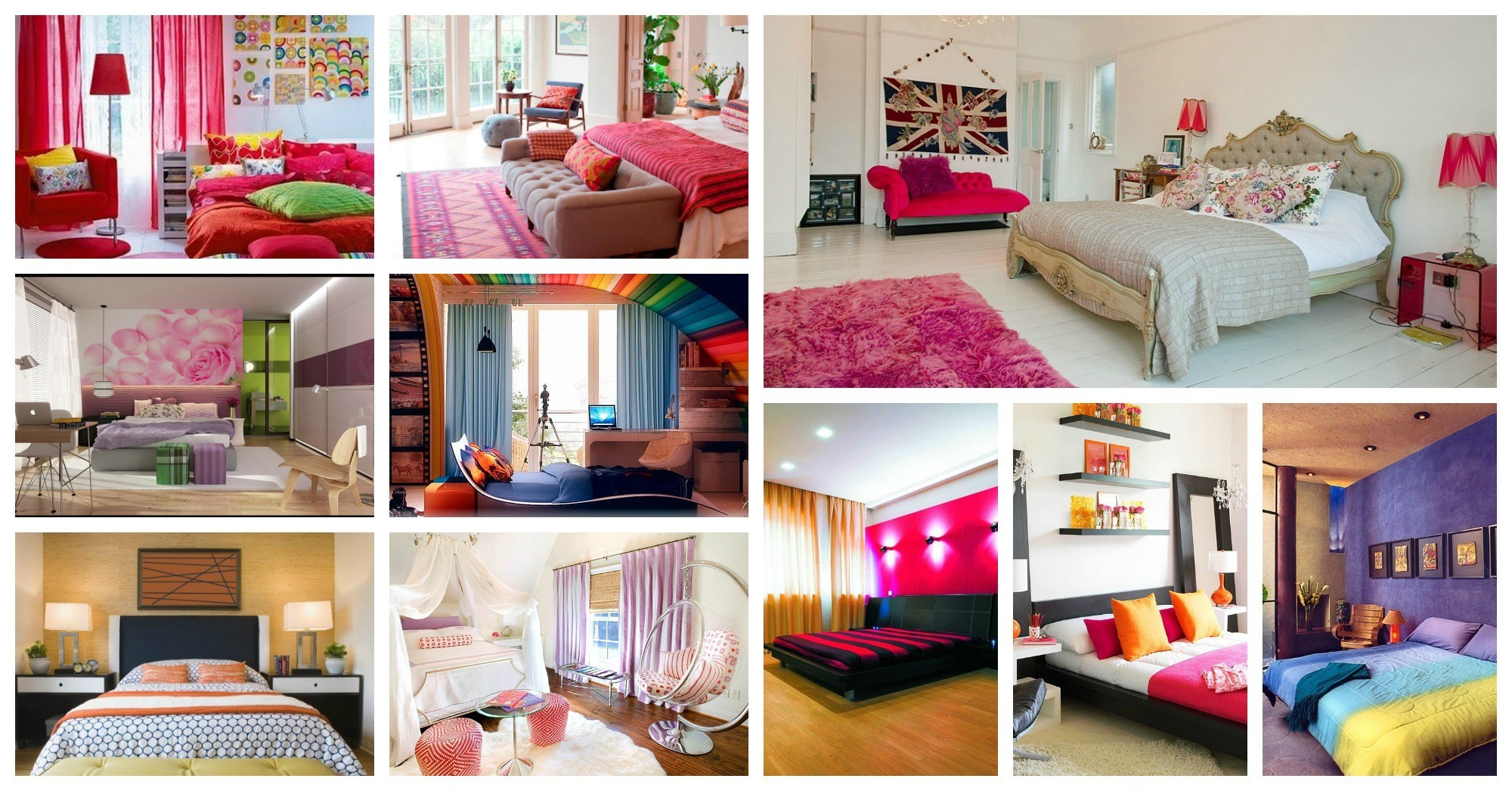 Bright And Colorful Bedrooms That Your Are Going To Love