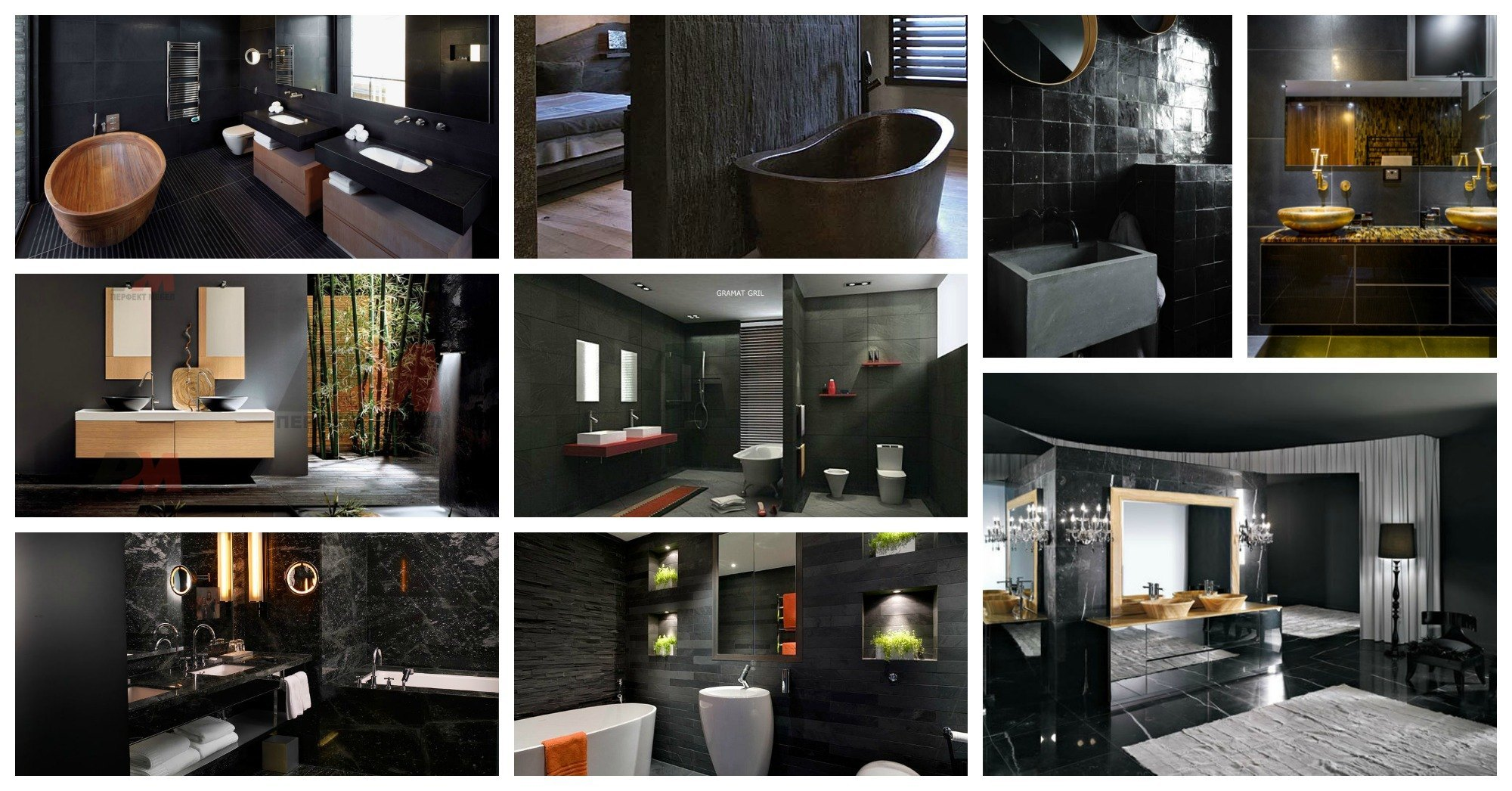 Absolutely Stunning Dark Bathrooms That Will Leave You Speechless