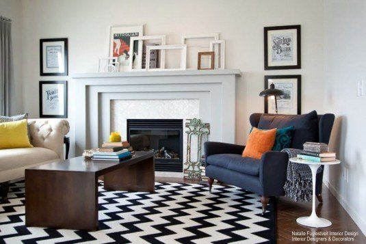 graphic-rugs-living-room
