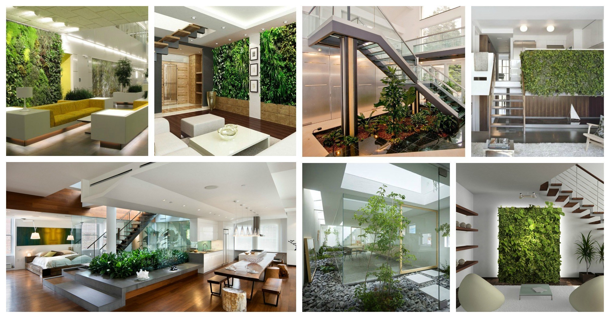 Impressive Interior Gardens That You Wish You Had At Home