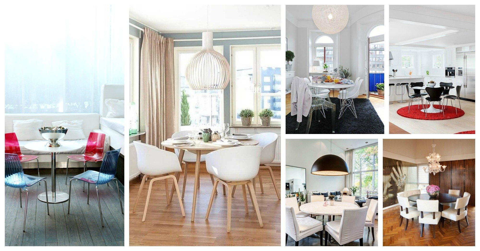 round dining room table ideas archives