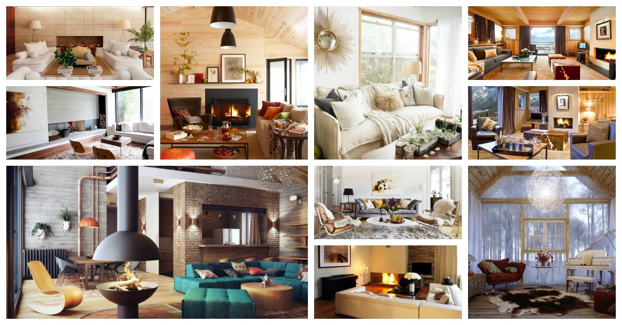 Wonderful And Warm Winter Living Rooms That Will Amaze You