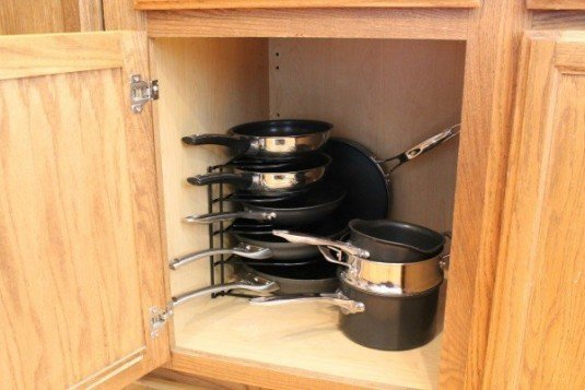 Functional Pots And Pans Storage Ideas That Will Be Of A
