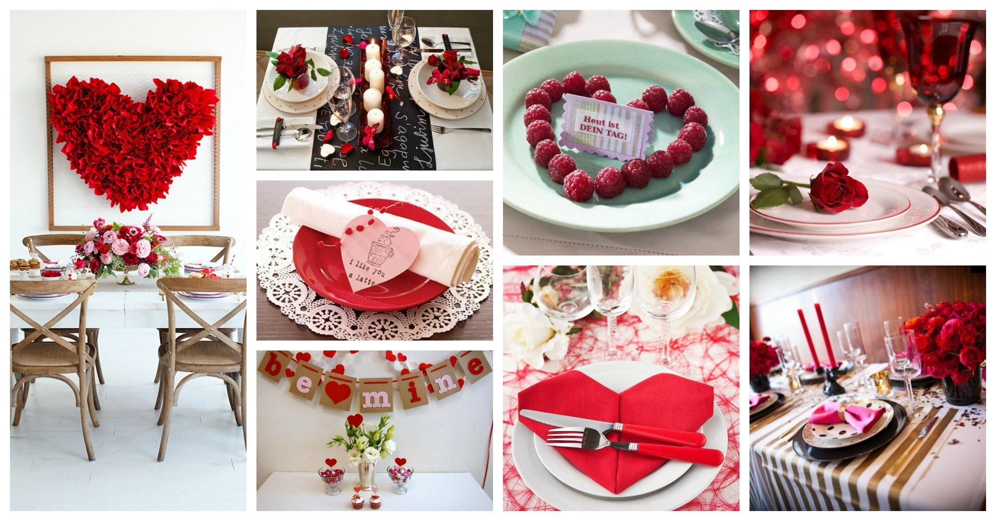 Valentine's Day Table Decorations That You Would Love To Copy