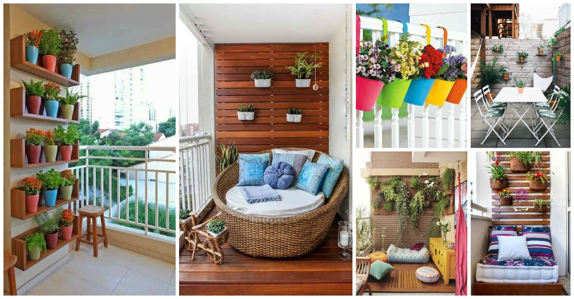 12 Amazing Ways to Make Your Small Balcony More Vivid and Cheerful