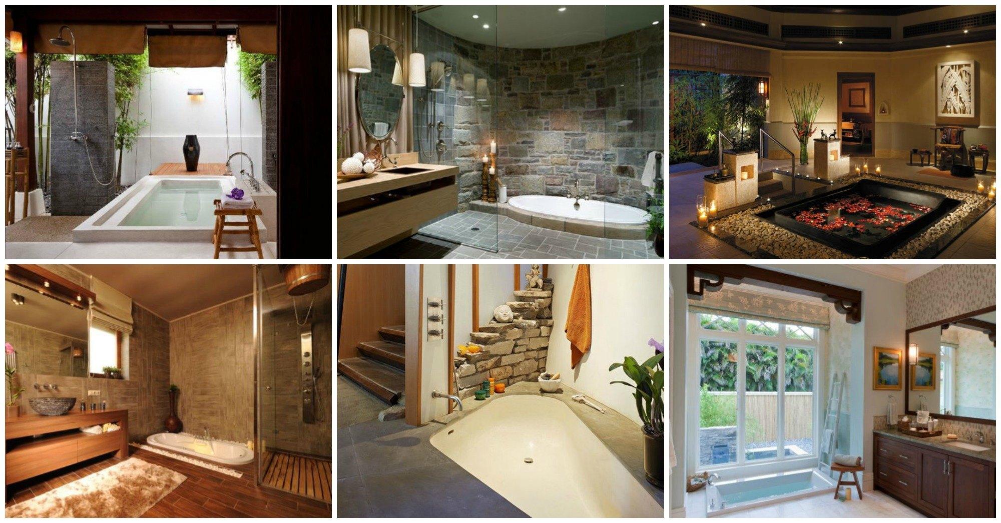 Top 10 Bathrooms Featuring Sunken Bathtubs