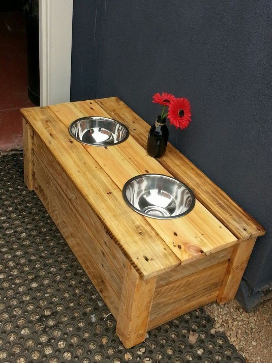 dog table