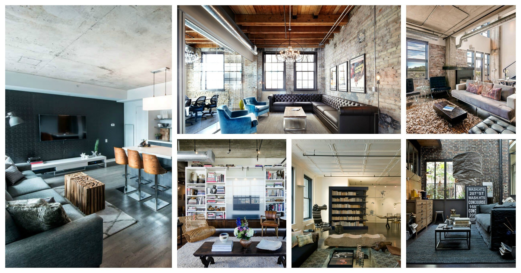 Impressive Industrial Living Rooms That Will Fascinate You