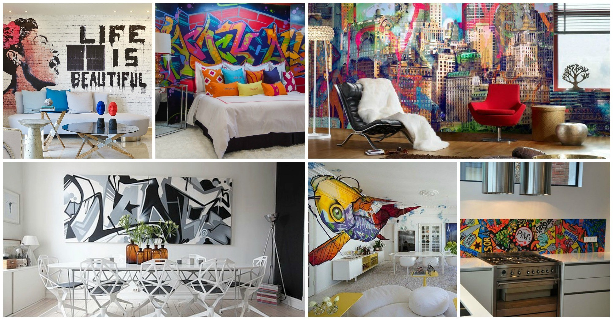 Awesome Graffiti Interiors That Will Blow Your Mind