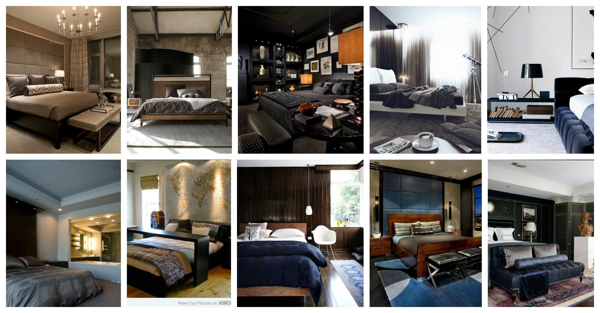 Bold Masculine Bedrooms That Will Take You Aback