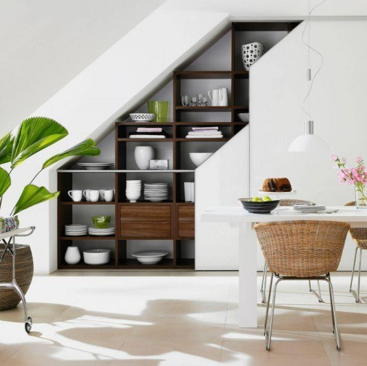 Incredible Kitchen Remodeling Ideas: Incredible Under Stairs Kitchens That Will Catch Your Eye