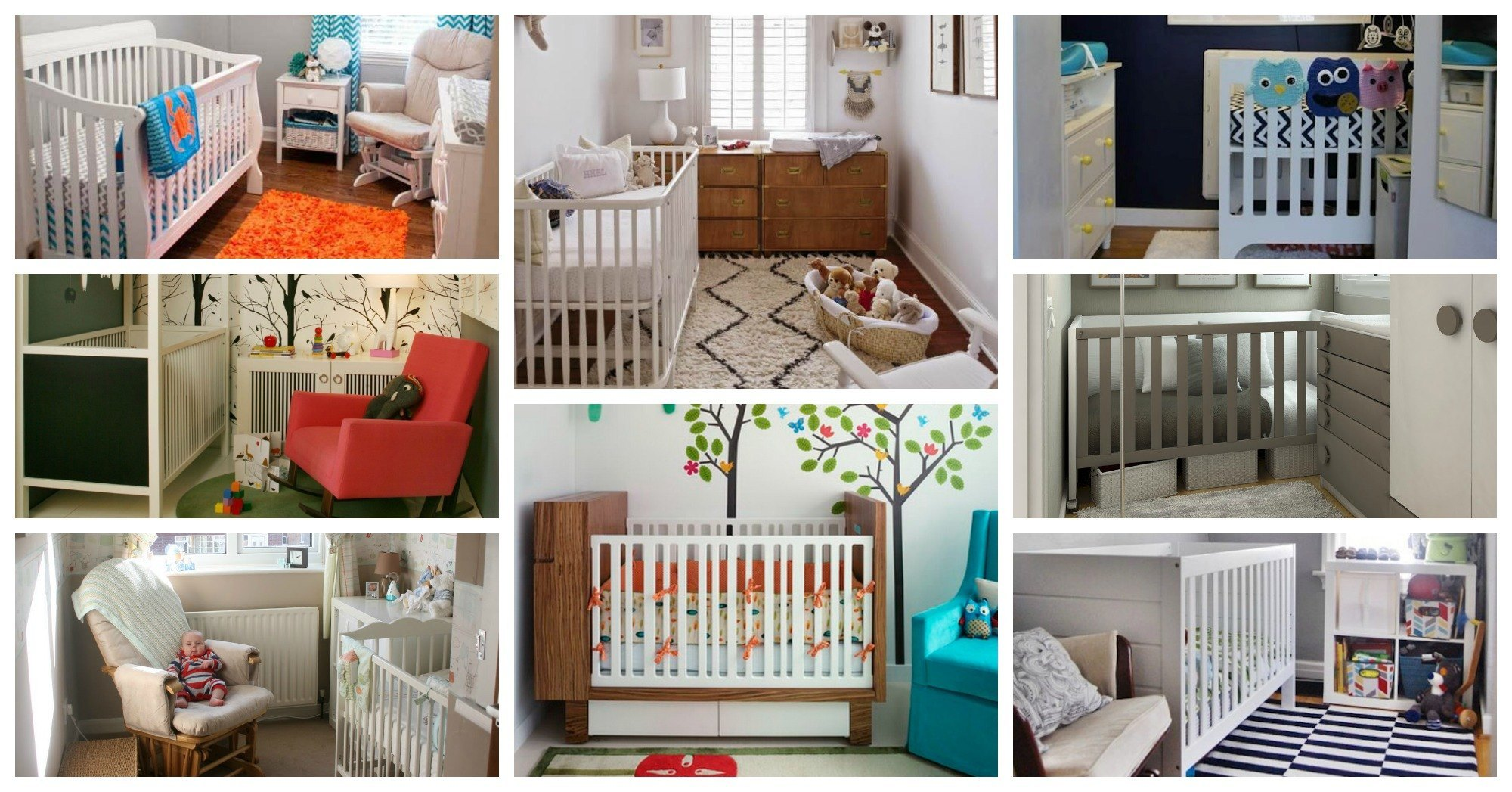 Super Tiny Nursery Designs For Your Small Home