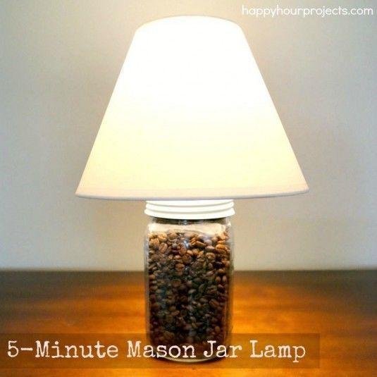 5-Minute-Mason-Jar-Craft-Lamp