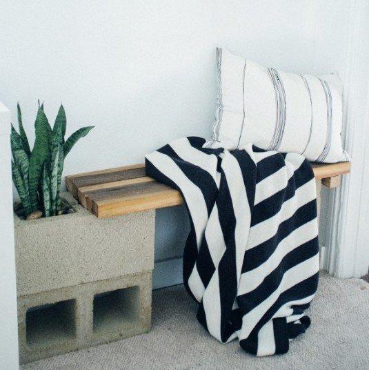 DIY-modern-cinder-block-bench