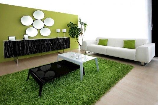 Wohninspiration-Gruen-Wandgestaltung-Tippich