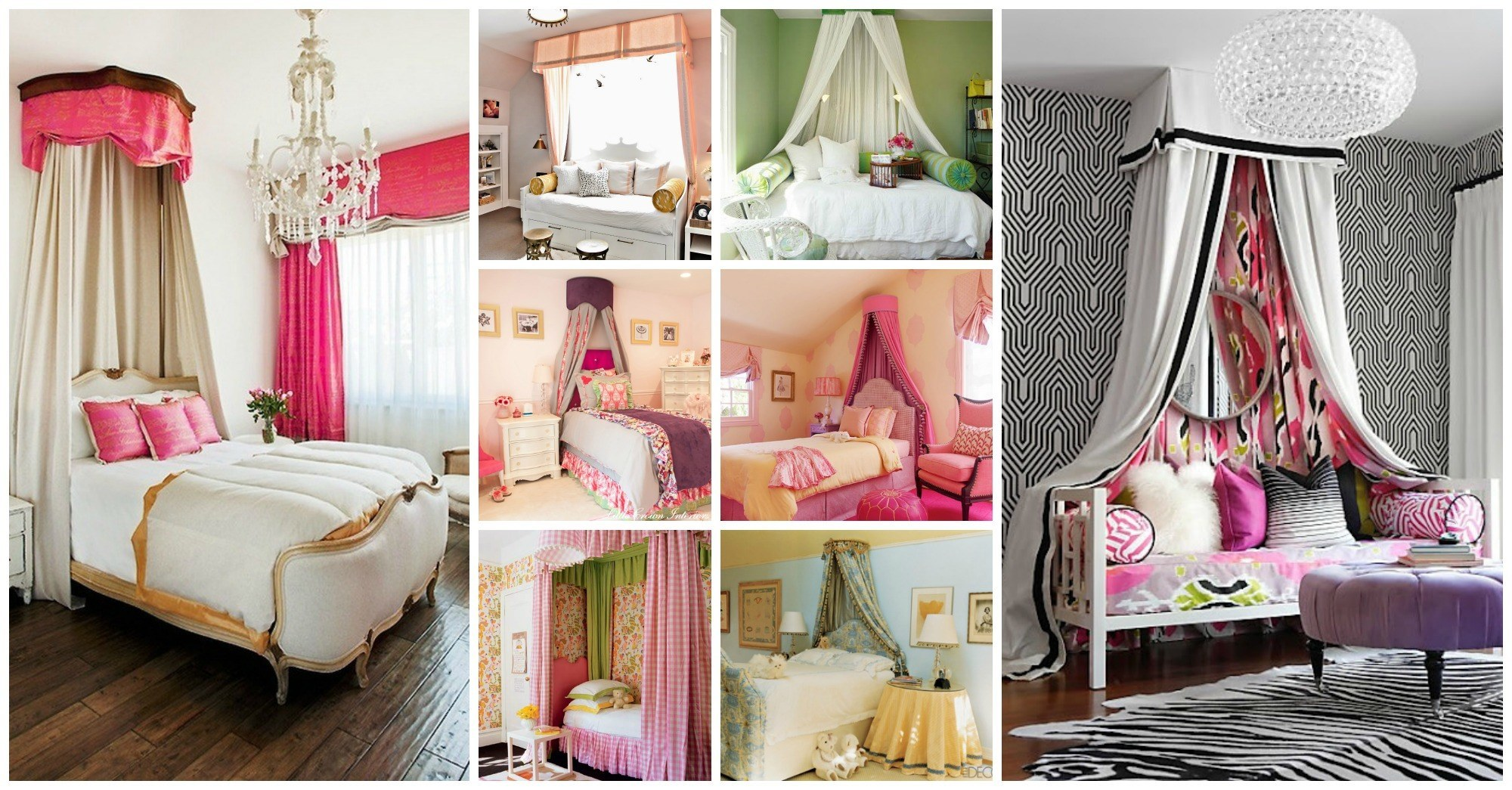 Lovable Canopy Beds For Your Little Princess