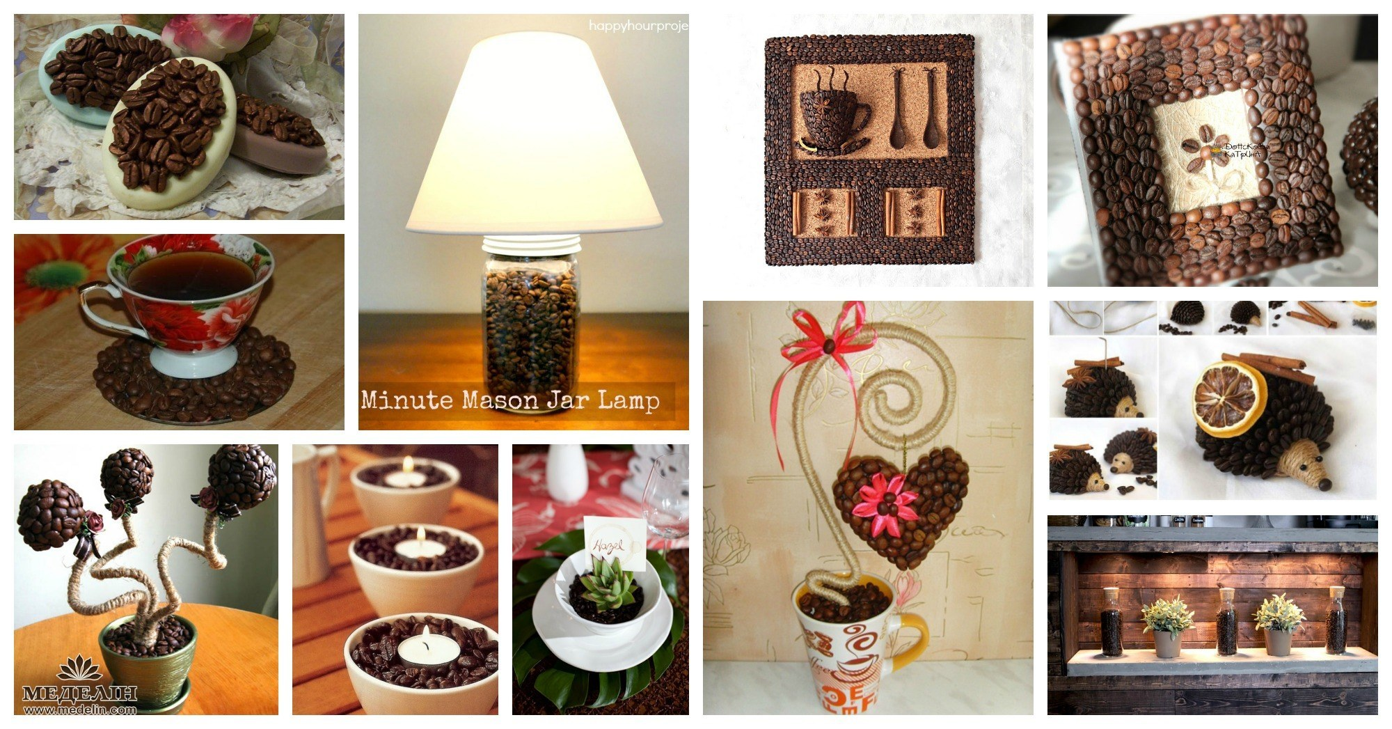 Unique Diy Coffee Beans Crafts For The Great Coffee Lovers