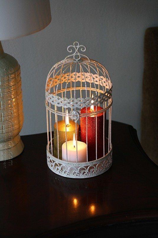 glitter-candles-in-a-bird-cage-10