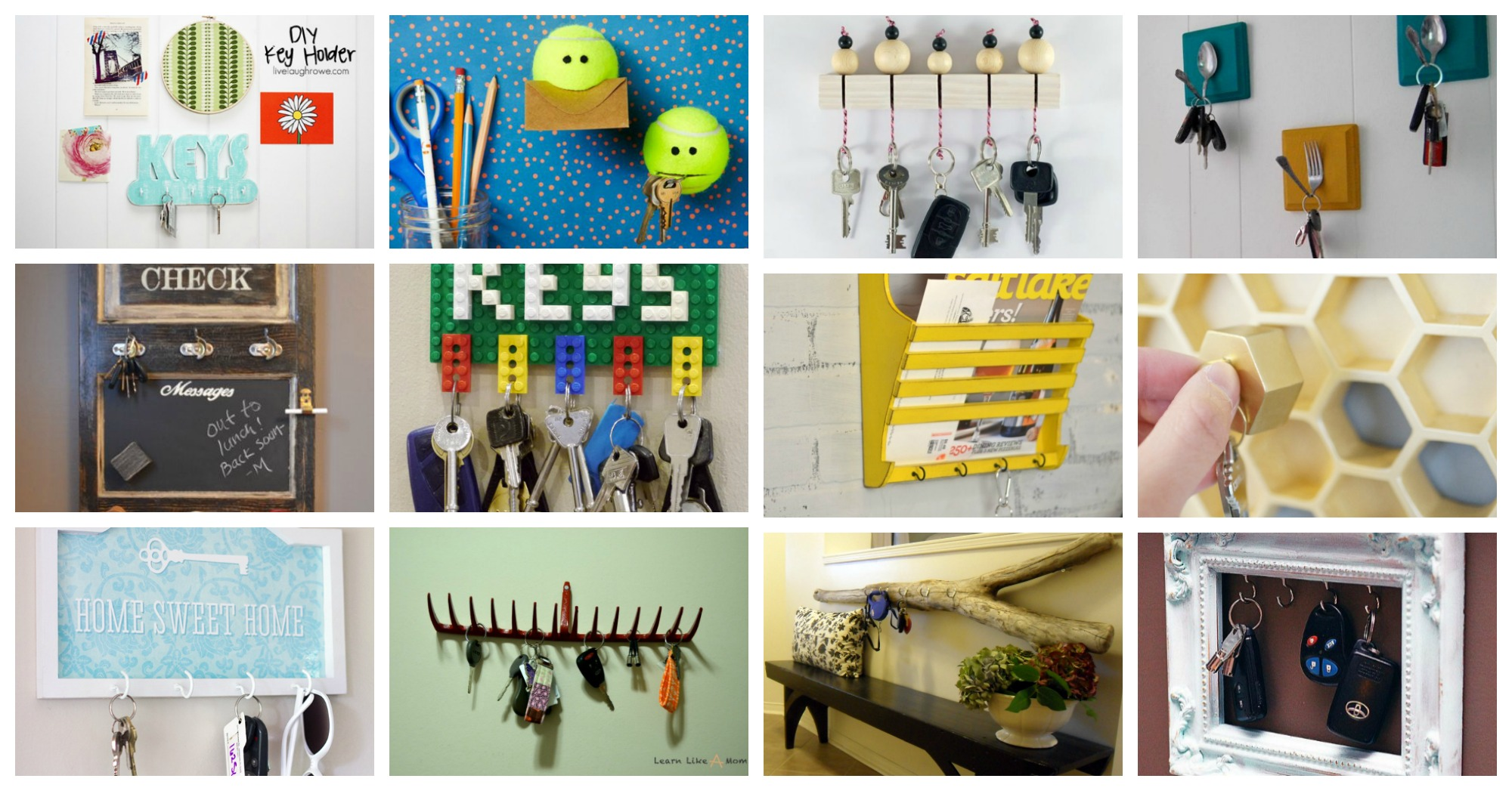 Stupendous DIY Key Holders That Will Help You Never Lose Your Keys Again
