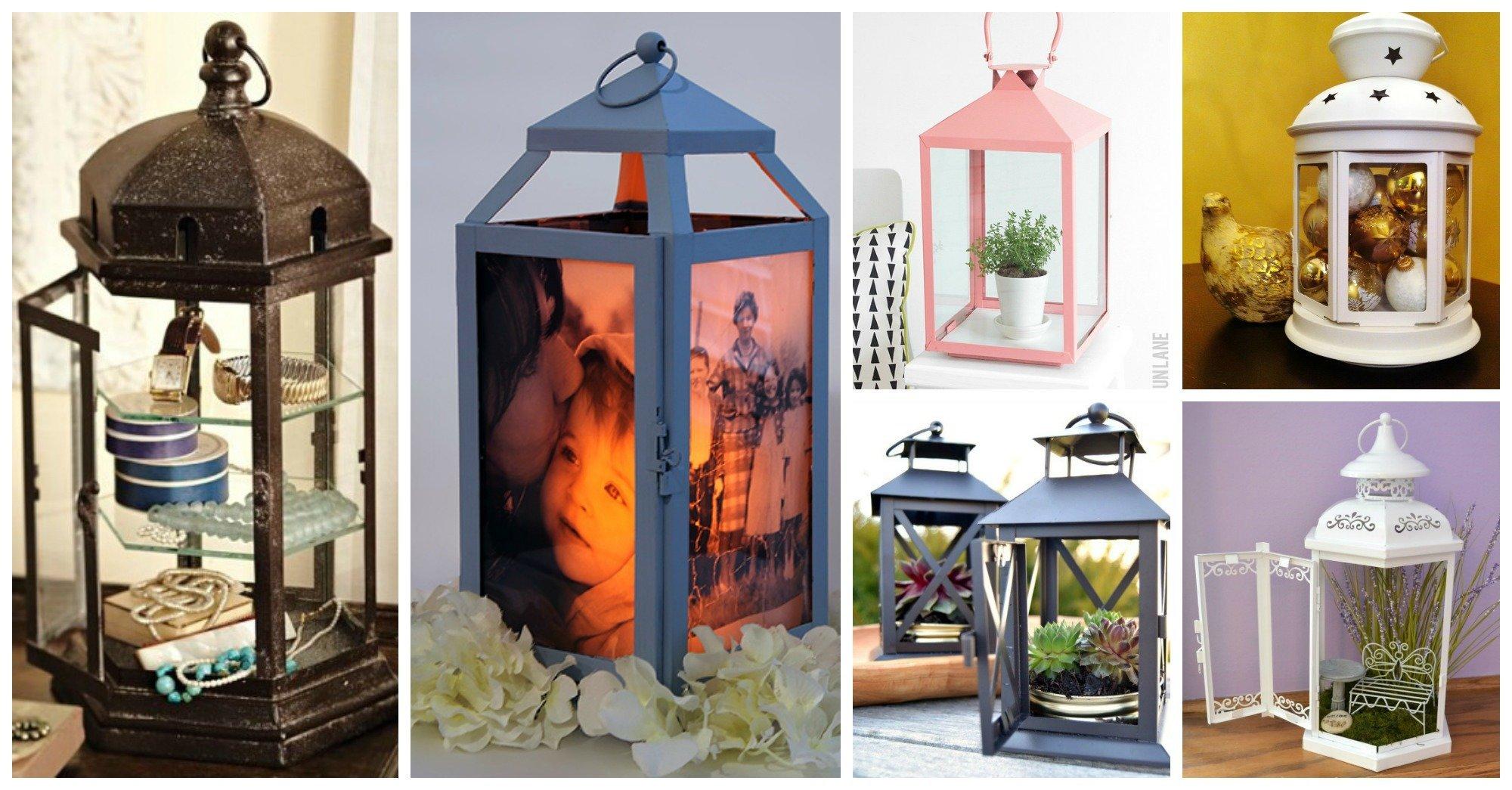 8 Awesome Ways To Repurpose Old Lanterns