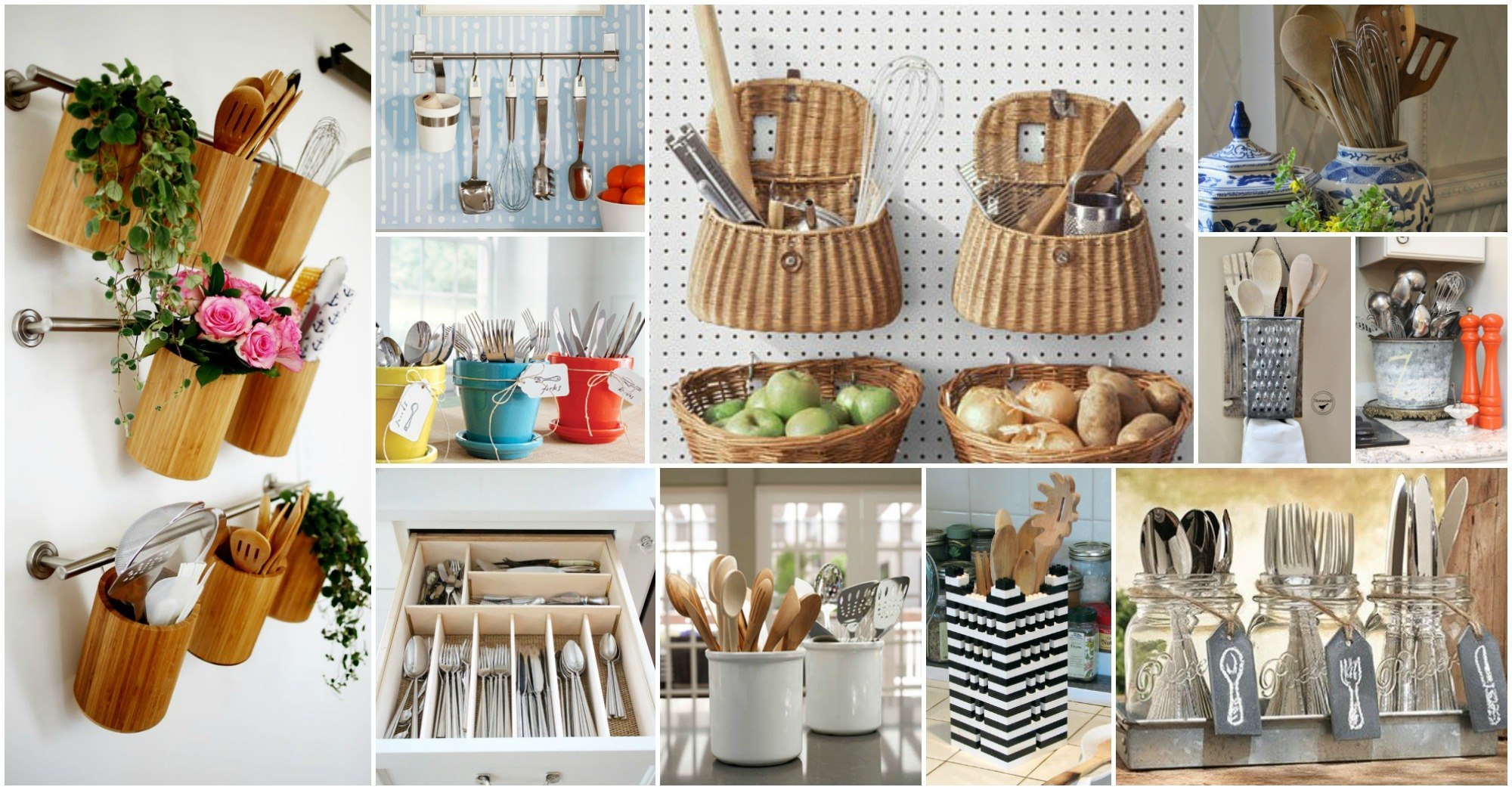 20 Creative Ideas Of How to Organize Your Kitchen Utensils on creative kitchen designs 10, creative kitchen countertop ideas, creative kitchen design ideas,