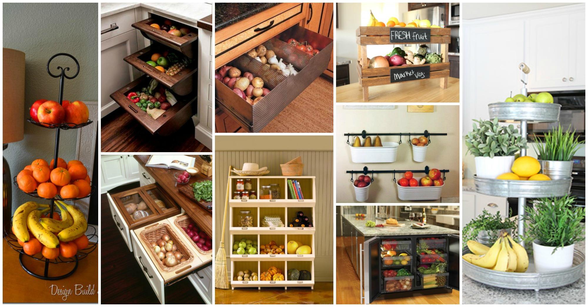Best Way To Store Vegetables In Kitchen