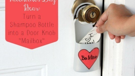 valentines-day-ideas-turn-a-shampoo-bottle-into-a-door-knob-mailbox-620x350