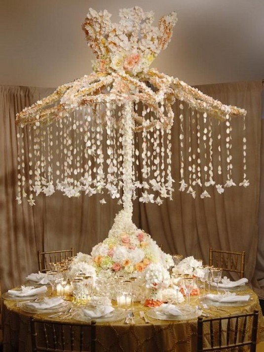 1-use-old-umbrella-to-decorate-wedding-table