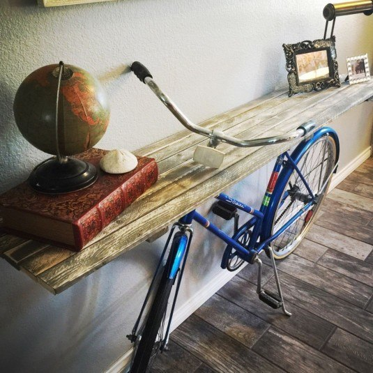 50s-bike-turned-into-a-priceless-credenza-diy-living-room-ideas-repurposing-upcycling