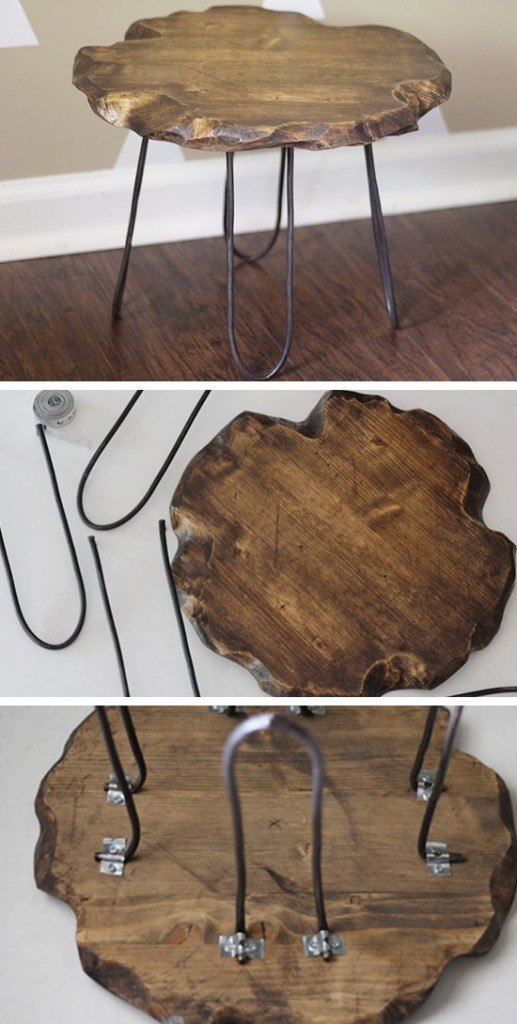 Rustic-Stool-with-Hairpin-Legs