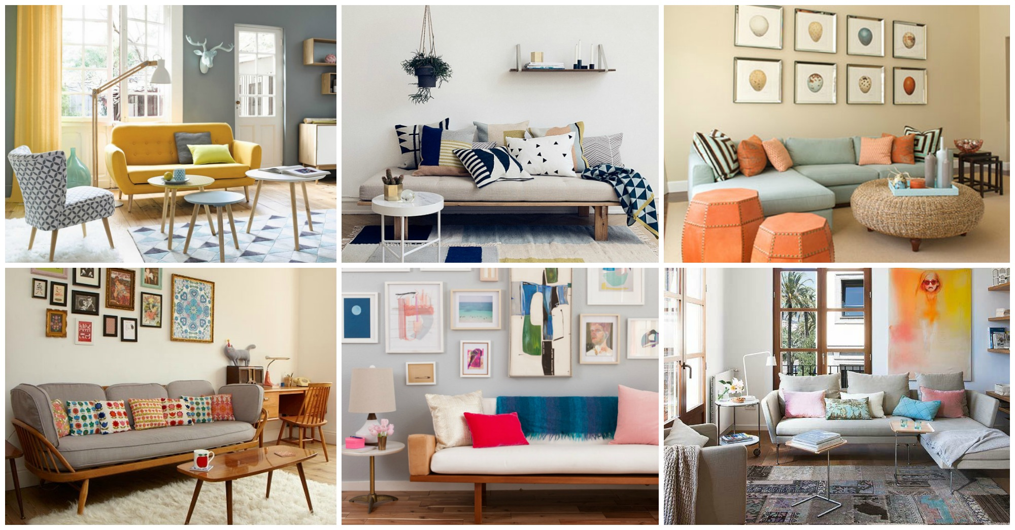 10 Living Rooms That Will Enchant You