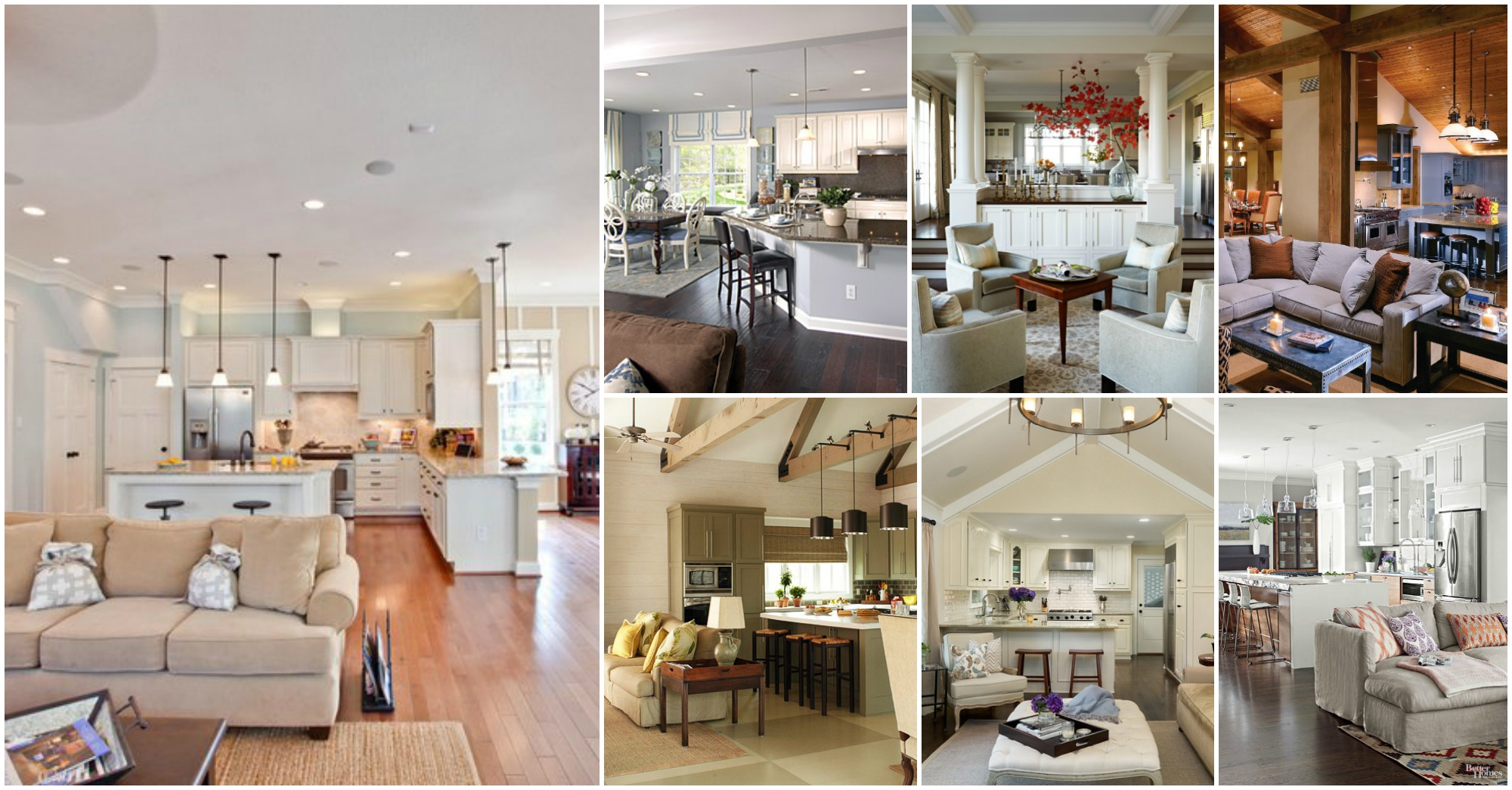 Impressive Open Kitchen – Living Room Designs That Will Blow Your Mind