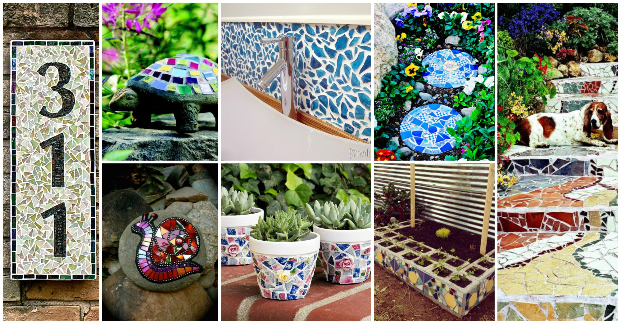 Lovable DIY Mosaic Projects You Can Make at Home