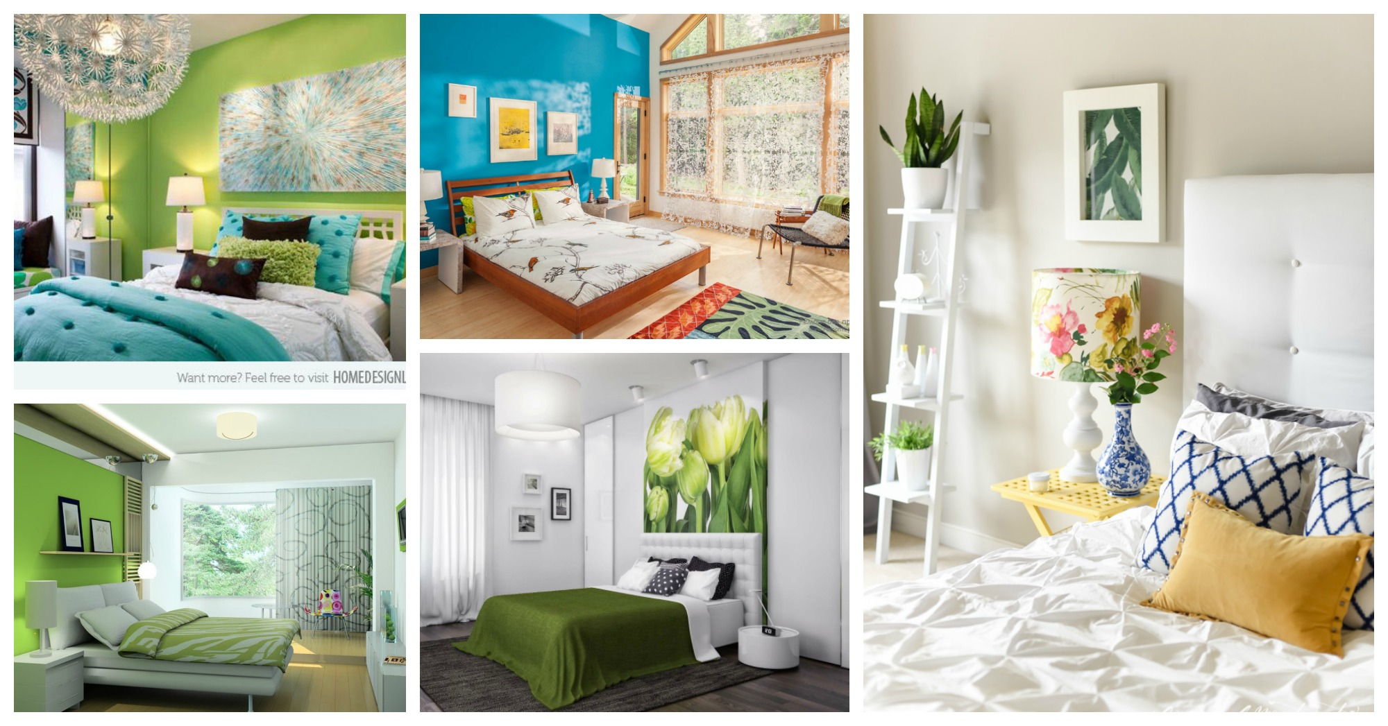 Refreshing Bedrooms That Will Amaze You