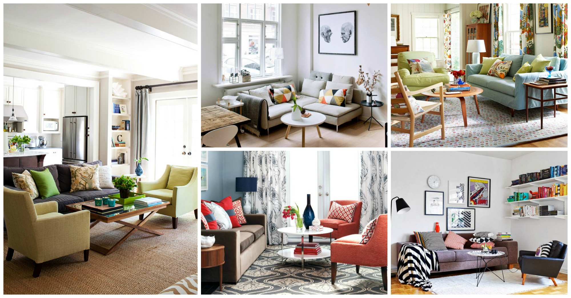 15 Small Living Rooms to Make the Most of Your Space