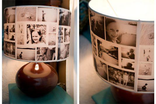DIY-Photo-Collage-LampShade