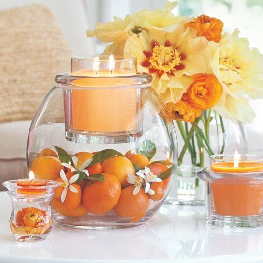 DIY-orange-and-candle-spring-table-centerpiece