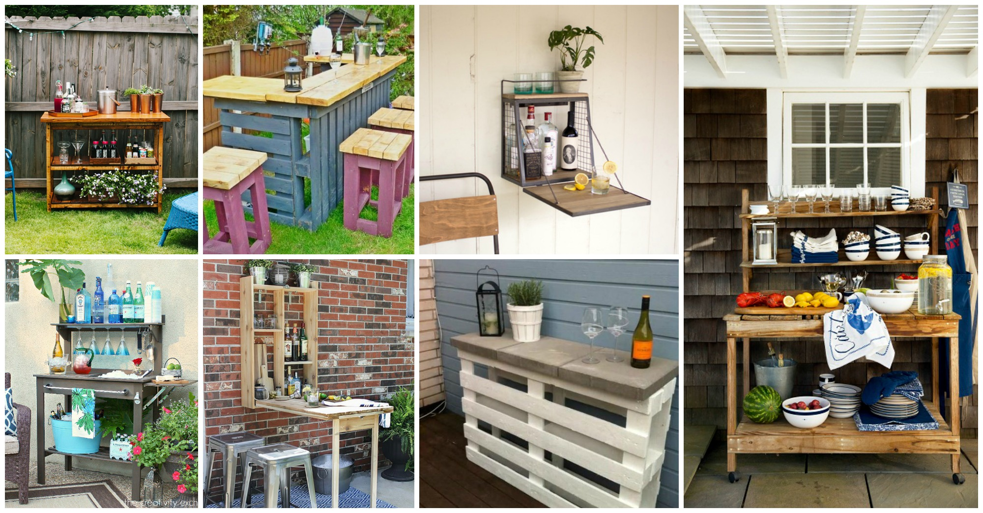 Top 10 DIY Outdoor Bar Ideas To Create Now