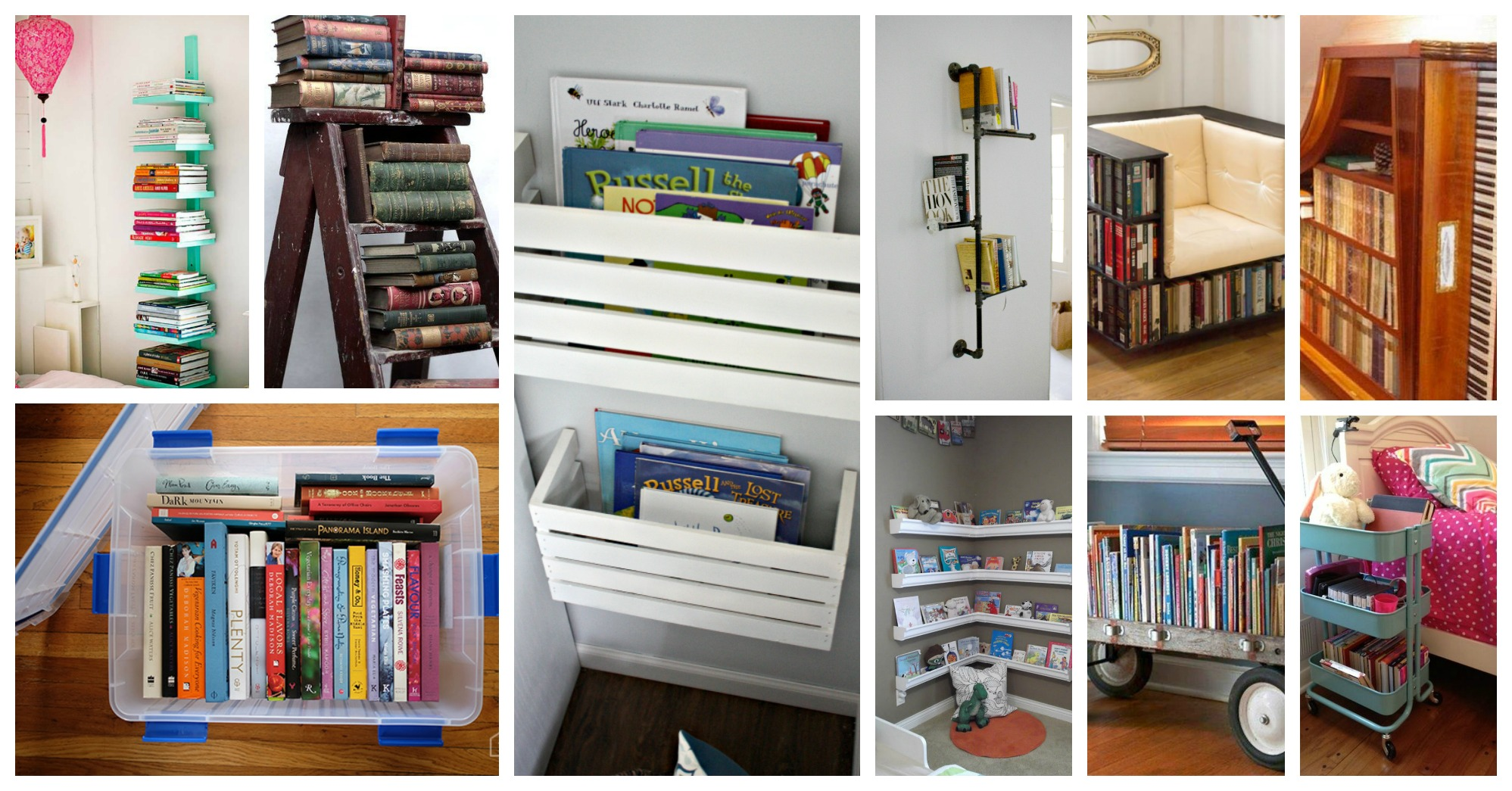 Alternative Book Storage Ideas That Will Fascinate You