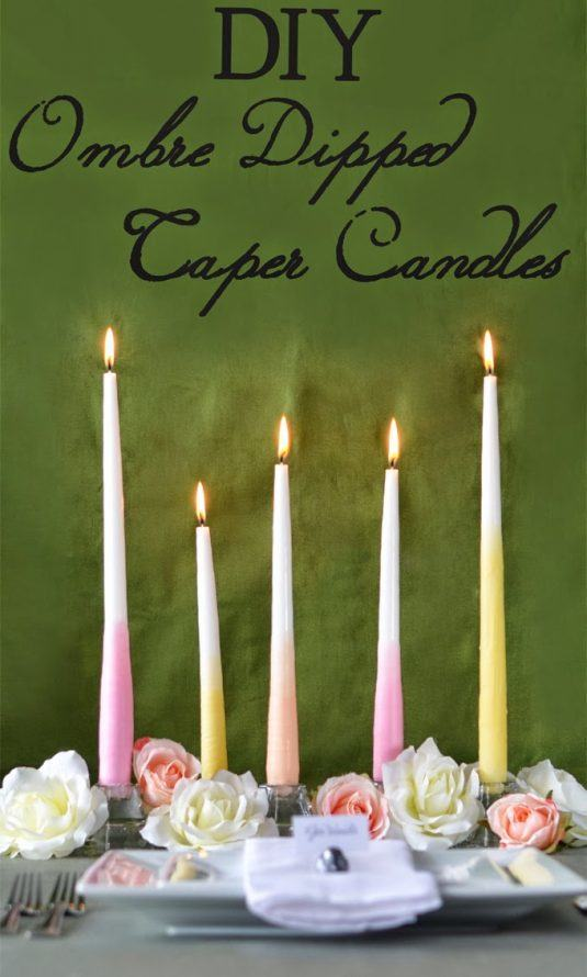 diy-ombre-taper-candles