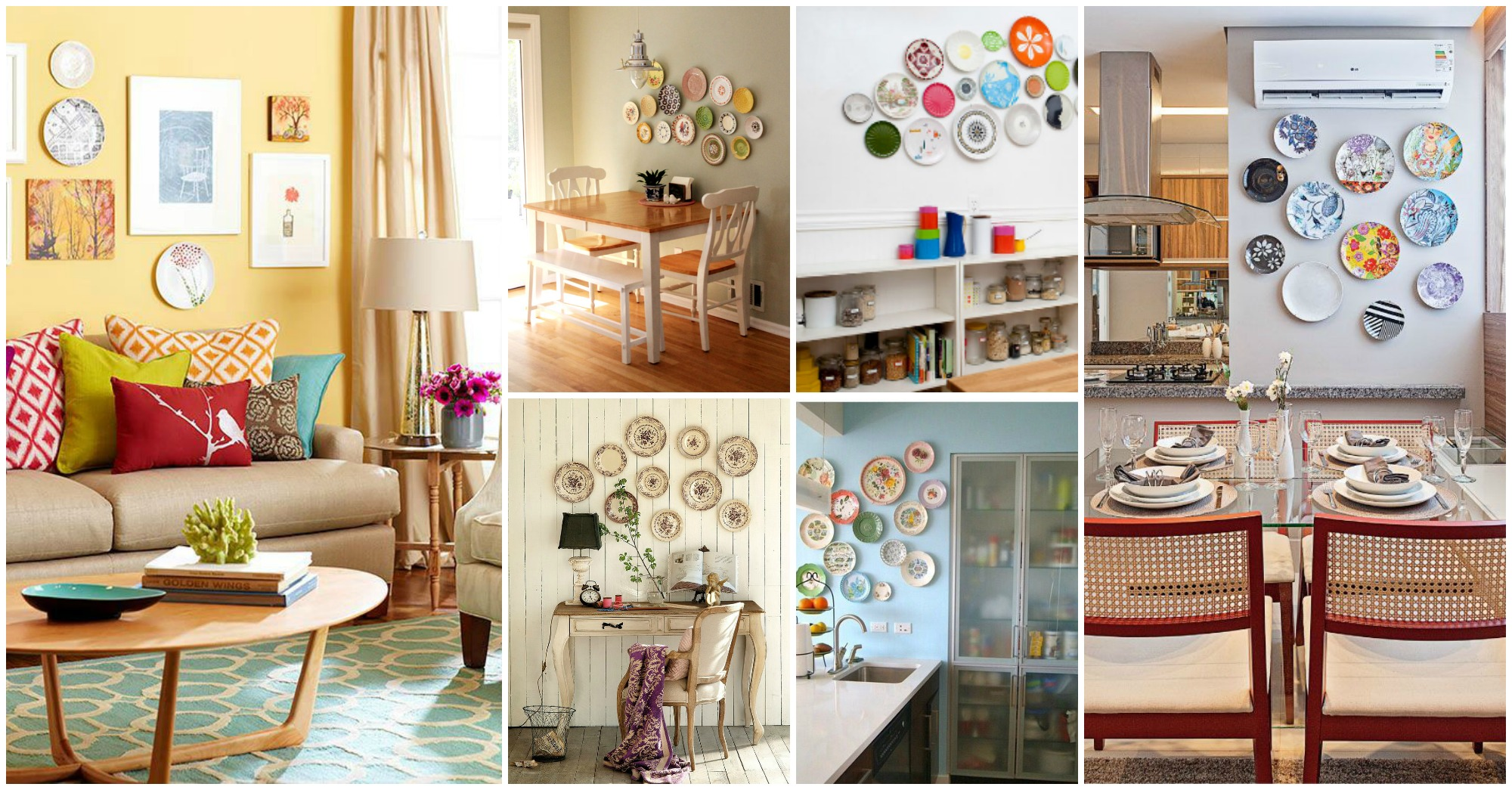 13 Amazing Ways to Enhance Your Interior With Plates