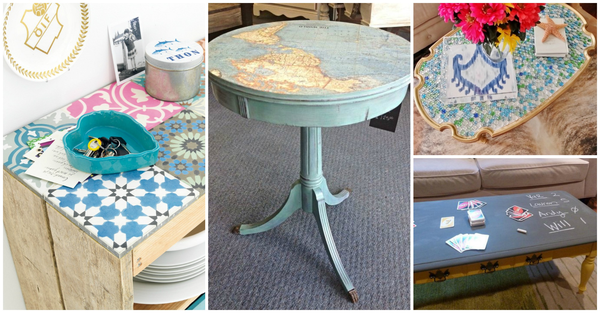 12 Low-Cost DIY Coffee Table Ideas to Make Right Now