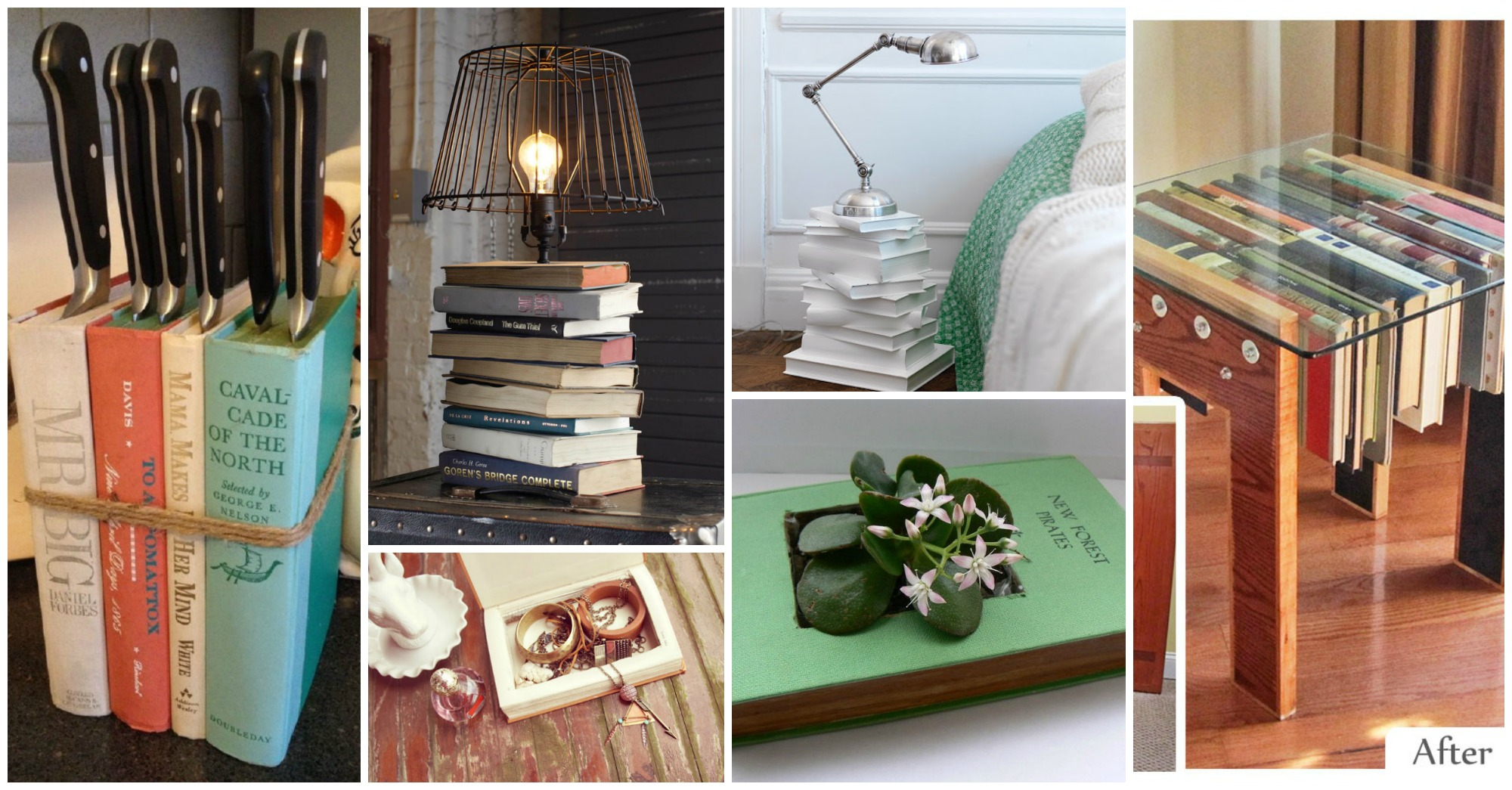 10 Amazing Ways To Reuse Old Books