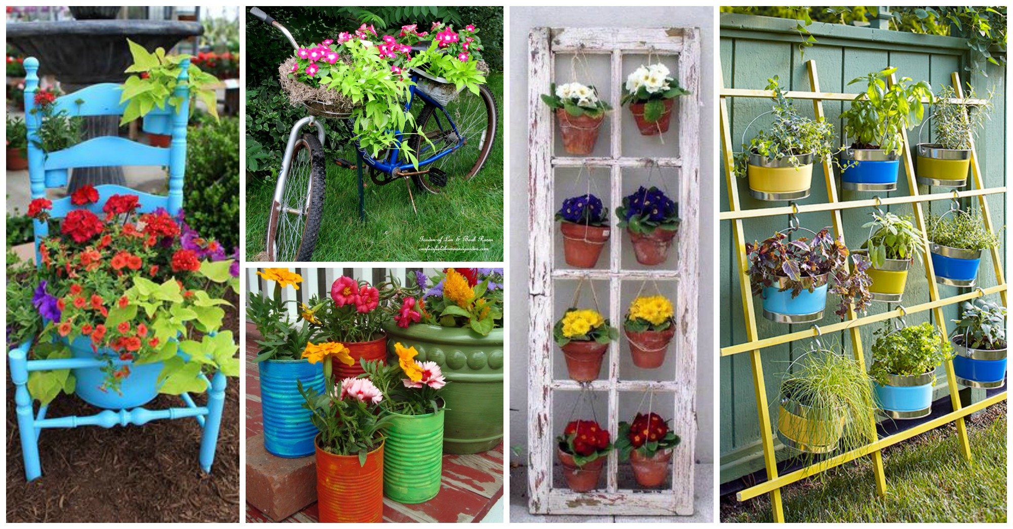 20 Cheap DIY Ideas to Make Your Yard More Cheerful
